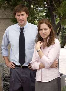 In what episode did Jim and Pam of The Office fist kiss?