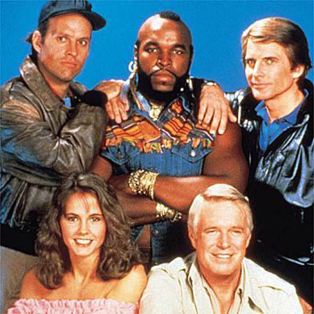 What was B.A.s phobia on the A-Team? 
