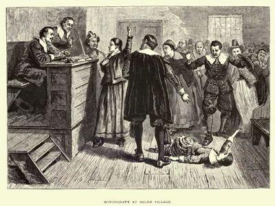 Which year were the Salem Witch Trials held?