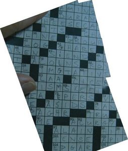 In which episode does this crossword puzzle appear?