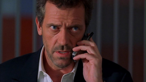 """House to Wilson: """"Either wewe go all in au I tell everyone in the building that you..."""""""
