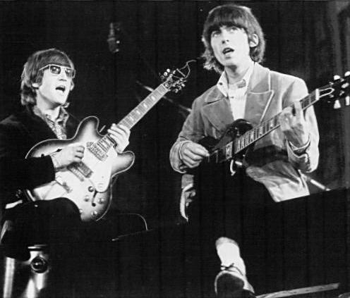True or False: As soon as John Lennon heard George Harrison play guitar, he immediately asked him to join the band