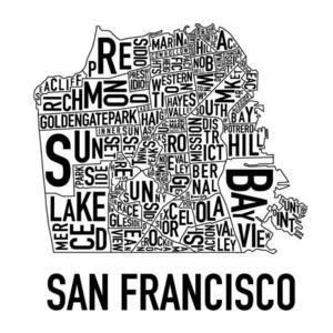 How big is the city of San Francisco?