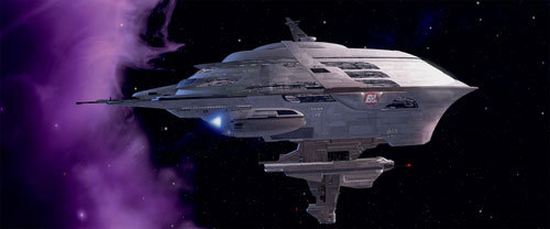 What is the name of the ship (pictured below) on which much of the action in the second half of WALL-E takes place?