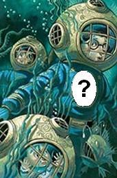 Whose face is on the uniforms of the crew of the Queequeg?