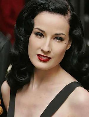 Dita chose her first name after silent film actress Dita Parlow. What is her real name?