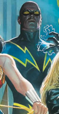 Black Lightning secrte identity