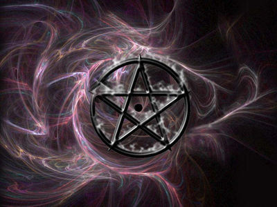 What does a pentagram represent?