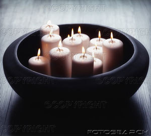 In Satanic rituals how many white candles can be used?