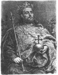 For how many years was Wacław II king?