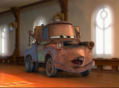 Who does the voice of Mater?