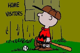 Charlie Brown has a favorite baseball player, who is it?