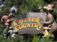 "Disneyland 101: The themed land currently  (as of 2008) known as ""Critter Country"" was originally known as..."