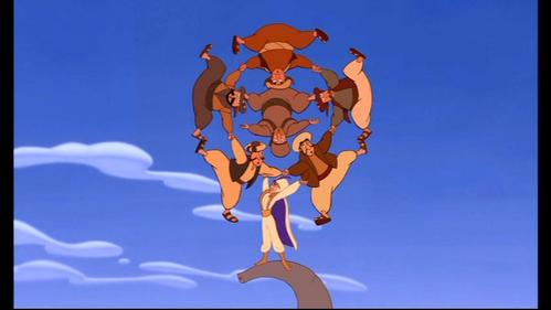 Prince Ali is as strong as how many regular men?