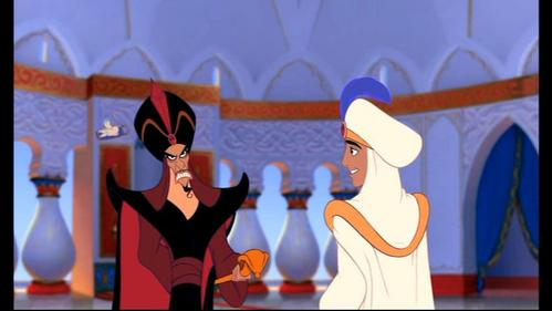 On their first meeting, how does Jafar keep referring to Prince Ali?