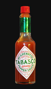 All of these are ingredients in McIlhenny's Tabasco sauce except one. Which one doesn't belong?