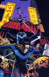 Dick Grayson (former Robin) became a new superhero named_______