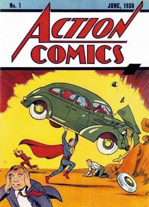 How much did Action Comics # 1 sell for when it was first introduced in 1938?