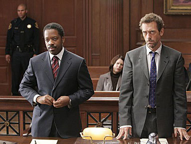In which one of these episodes does House NOT face a judge?