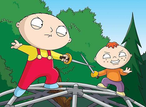 What is Stewie's half-brother's name?