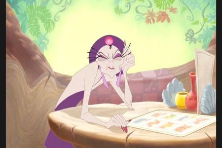 What type of cheese does Yzma get on her potatoes?