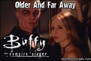In Older And Far Away, When Buffy & Spike were alone by the stairaway: Who saw them together?