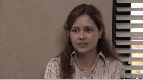 "Who does Pam joke that she is going to sleep with in ""Basketball""?"