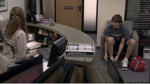 Where does Jim say Pam can go with him if Roy's team loses the basketball game?