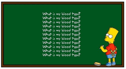 what my blood type quiz
