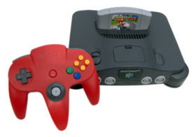What was the only major Nintendo series not to have a game on the N64?