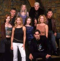After the Resurrection spell worked, who was the first person to realize that they were seeing Buffy rather than the Buffybot?