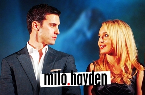 how many years apart are hayden and milo