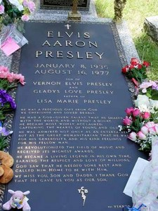 Where can you find the grave of Elvis Presley?