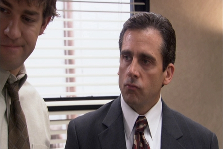 SCREENCAP: what prompted this Michael face?