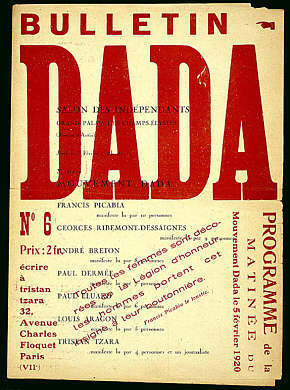 "What is the meaning of ""Dada,"" as explained by Tristan Tzara?"