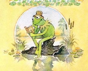 Which book was Kermit not a credited writer for?