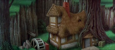 What did the Феи call the princess when they took her to the cottage in the woods to raise her?