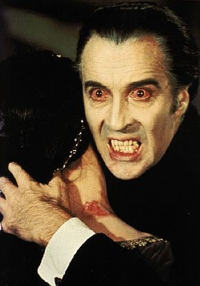"""The 1973 Christopher Lee horror movie """"The Satanic Rites Of Dracula"""" was also released as ..."""