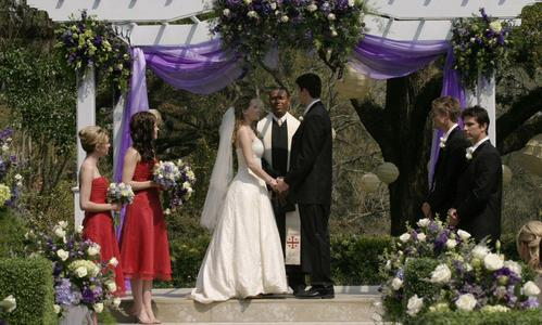 "Who sings the song ""We Are Man And Wife"" at Haley and Nathans wedding in the 3rd season?"
