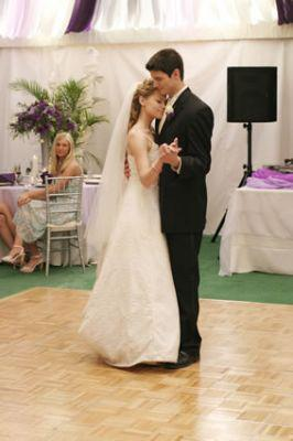 What's the name of the song that Nathan did pick for his and Haley's first dance on their wedding in the 3rd season?