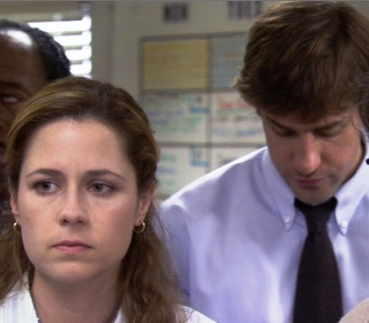 In Season 2, what is it that Jim complains to Toby about regarding Pam?