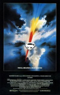 Who composed the Superman theme for the movies?