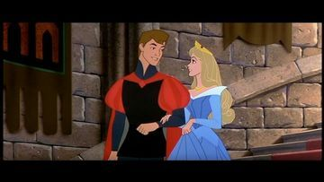 Where does the princess say she has met the prince before?