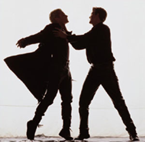 """Fill in the blank: Spike once accused Angel of being """"as dull as a ________""""?"""