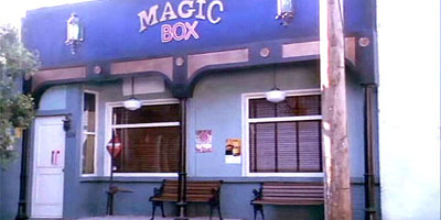 Who last owned The Magic Box before Giles?