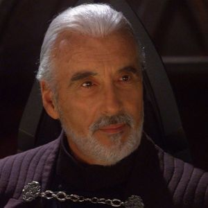 "Finish the quote: ""The Republic is crumbling under attacks door the ruthless __________, Count Dooku.""?"