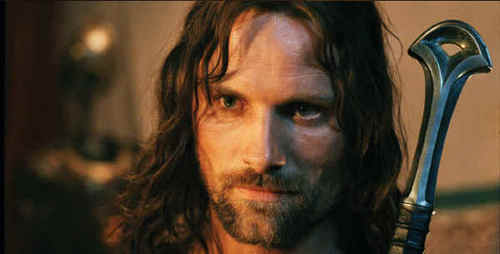 Who was originally going to play King Aragorn in The Lord Of The Rings?