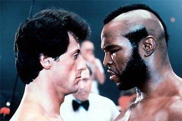 In which film does Rocky fight Clubber Lang?