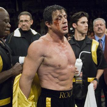 How many times has Rocky lost the main fight (inc. Rocky Balboa)?