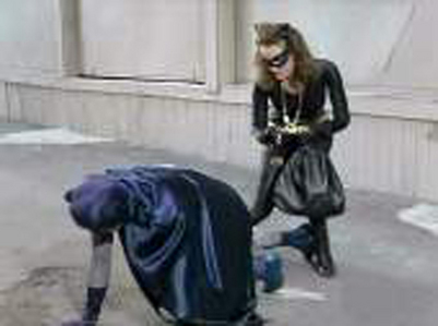 what episode of the 1966 Batman do Catwoman want a kiss?